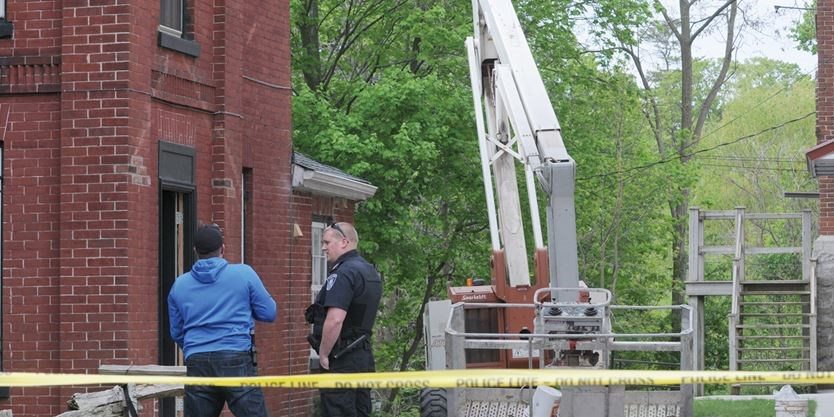 One person airlifted to hospital after a construction work lift collapses in Port Hope