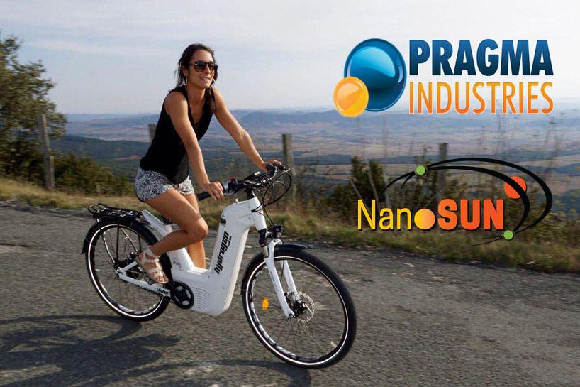 NanoSUN and Pragma Industries Sign MOU to Develop Mobile Refuelers for Hydrogen Fuel Cell E-bikes