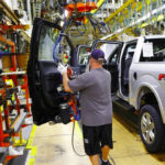 Ford Halts Work at Two Plants